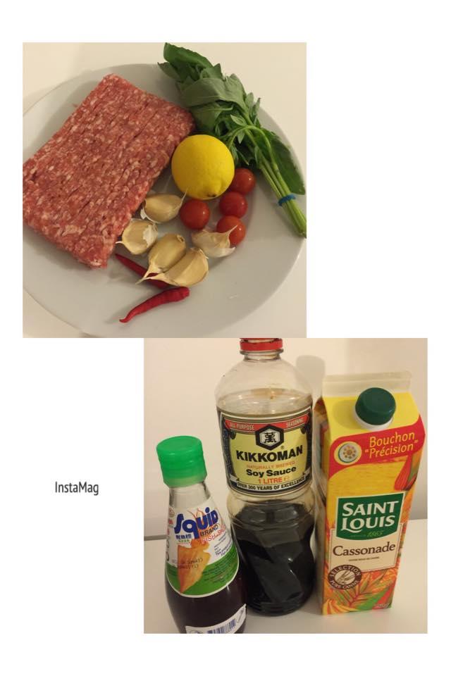 泰式打拋肉 + 山藥排骨湯
