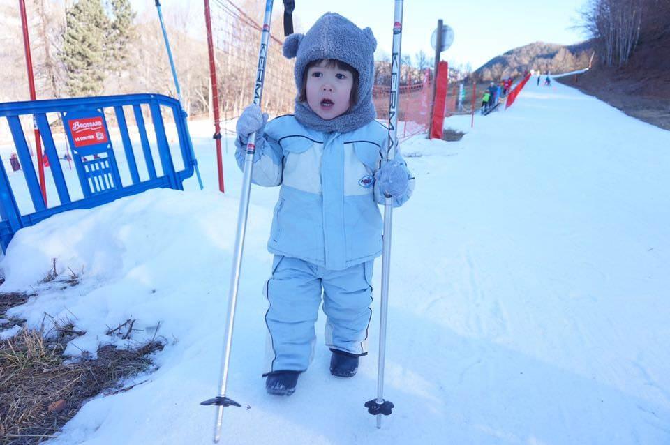 滑雪初體驗