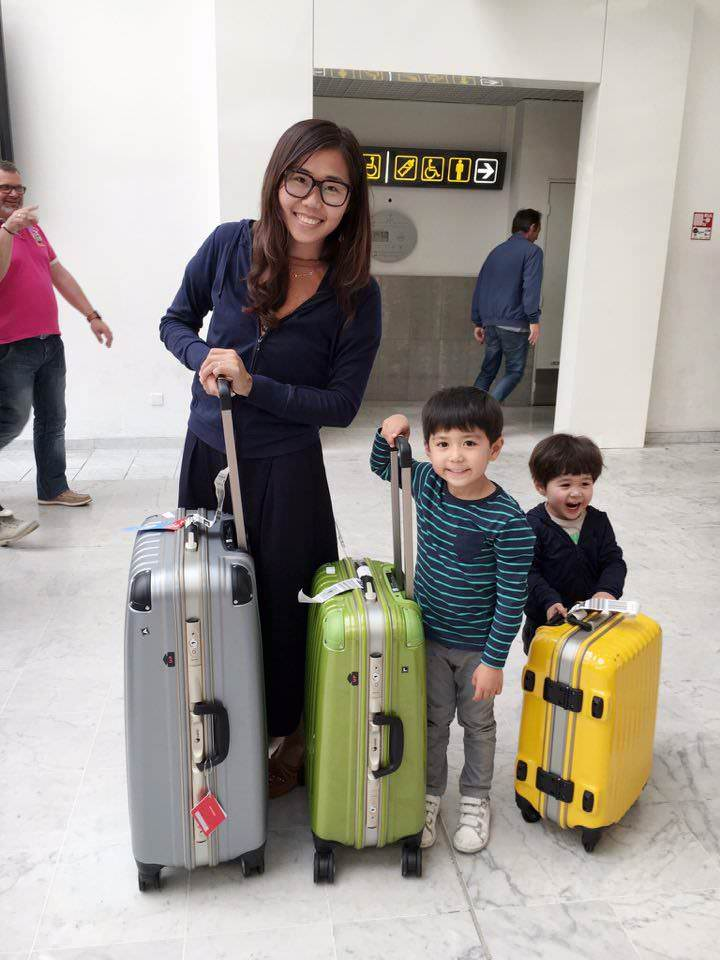 高仕皮包30年台灣自創品牌Wind行李箱,顏色繽紛、堅固好用!
