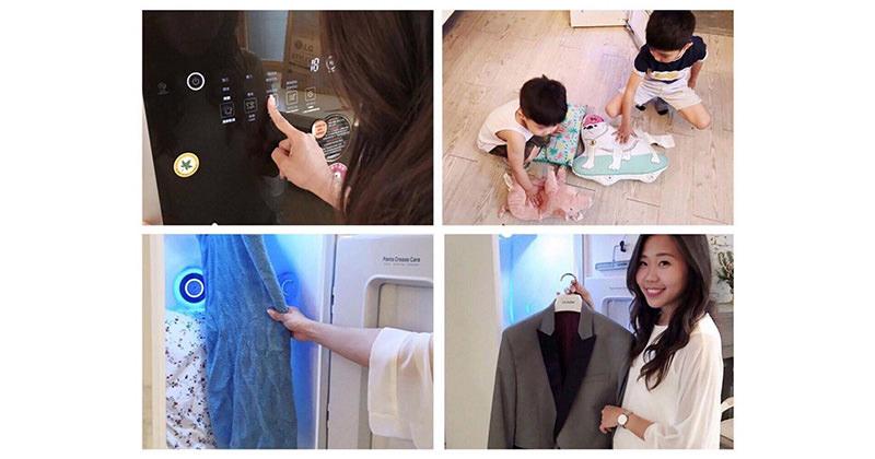 家庭主婦輕鬆洗衣高科技~LG廠商Styler智慧電子衣櫥