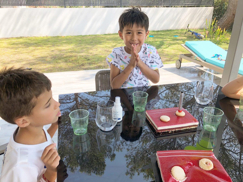 亞歷七歲生日派對🎂